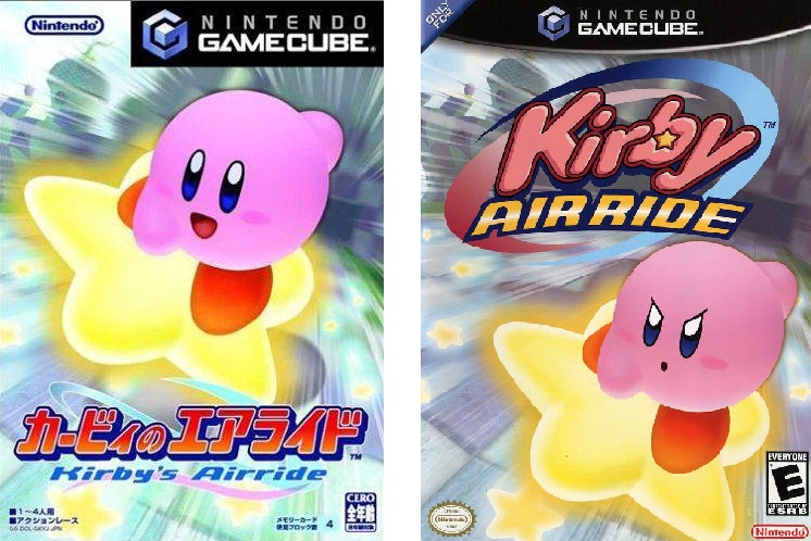Portada Kirby Air Ride