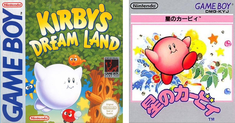 Portada Kirby GB