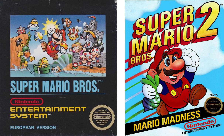portada Mario Bros 2