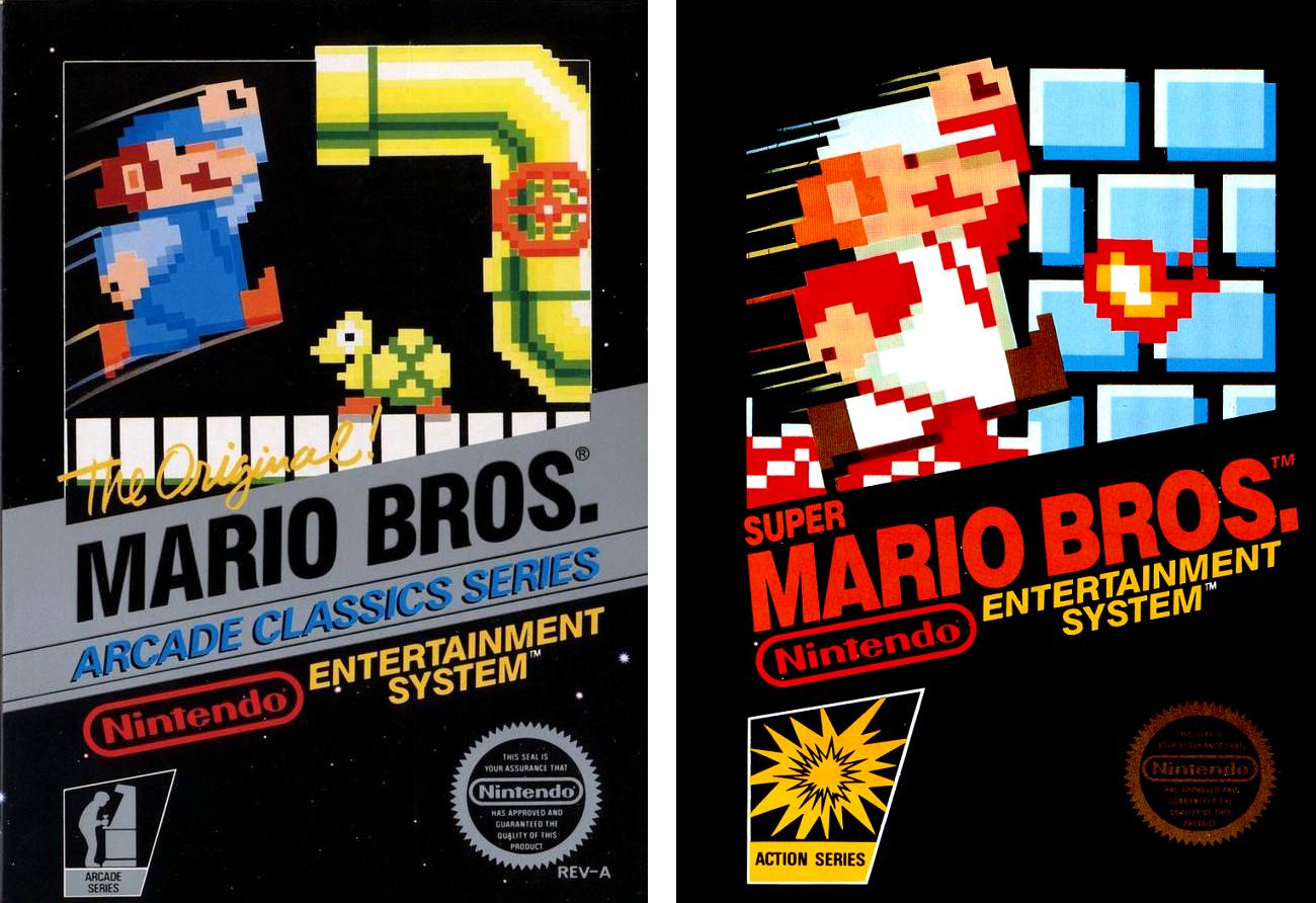 portada Mario Bros NES