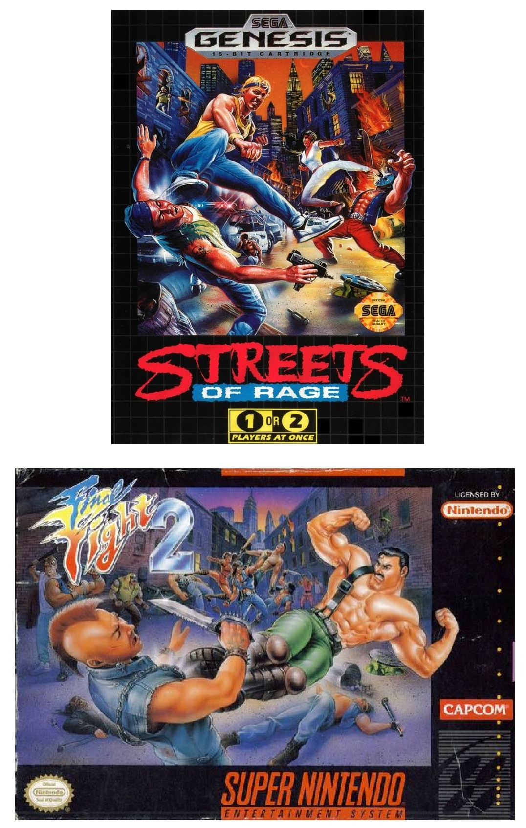 Streets of Rage FF2