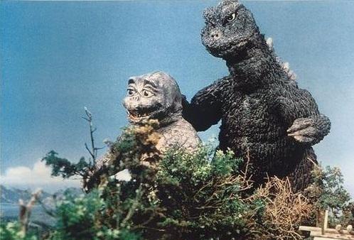 Godzilla e hijo