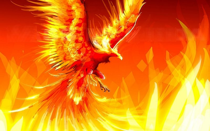 Artwork de Phoenix en Dota 1