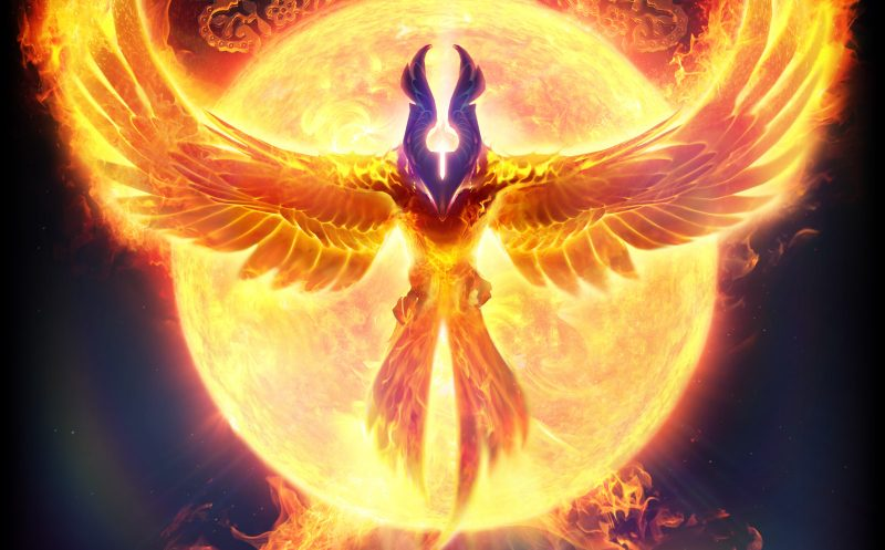 Artwork de Phoenix en Dota 2