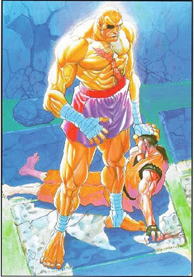 Street Fighter II Sagat