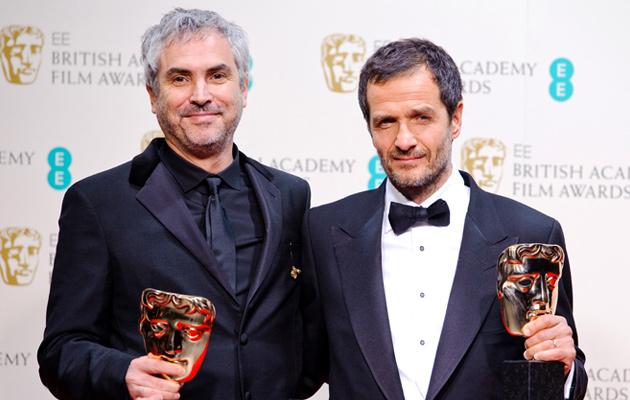 La producción de Alfonso Cuarón se hace con muchos de los premios.