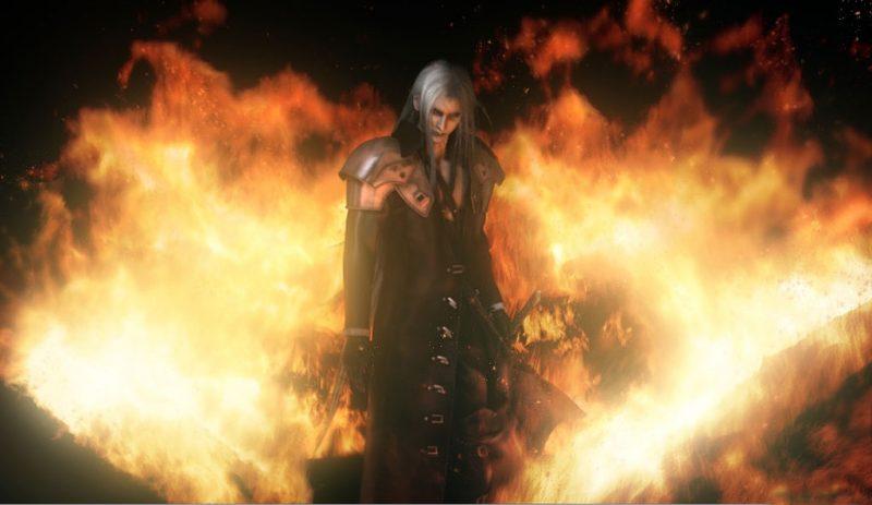 Habrá que seguir esperando a que Square Enix quiera ver a Sephiroth en alta definición