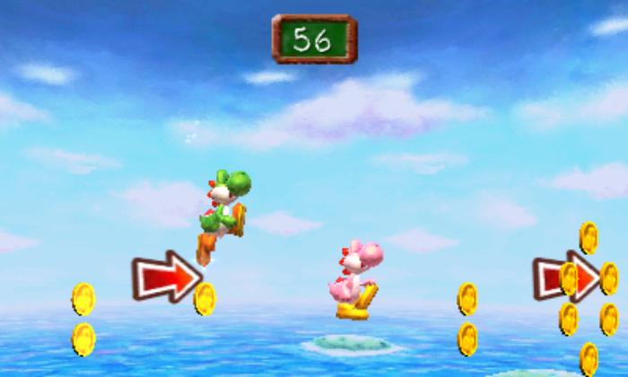 En Flutter Finish, los participantes tratarán de obtener más monedas que el adversario.