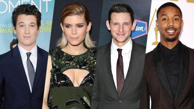 Los cuatro actores interpretarán a los conocidos 4 fantásticos.