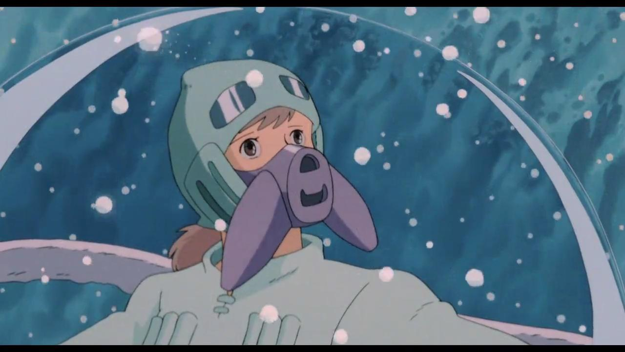 El Miyazaki convierte algo toxico y nocivo en preciosos fotogramas llenos de arte