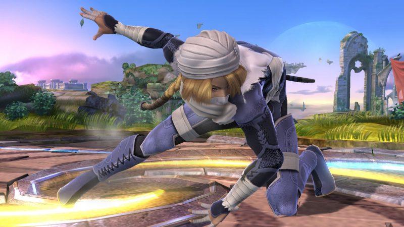 Los luchadores que combinaban dos personajes han sido separados, como Sheik y Zelda.