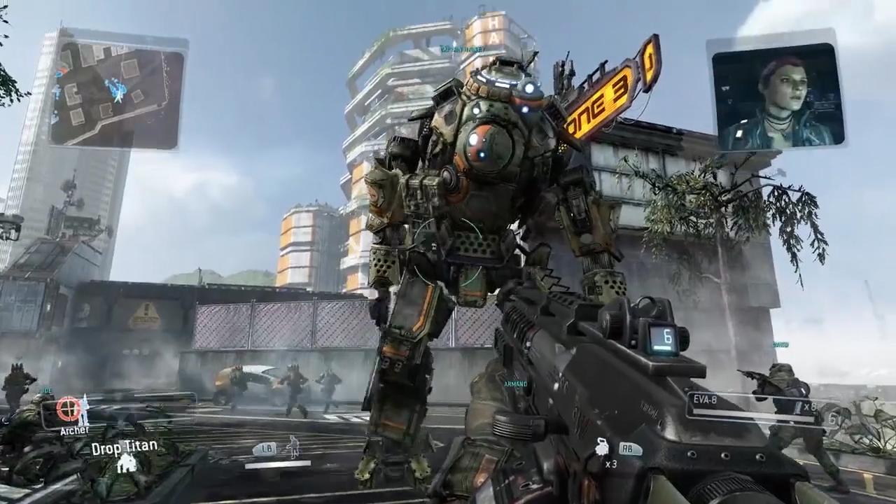 La verticalidad en la jugabilidad de Titanfall se ganó el favor de las críticas