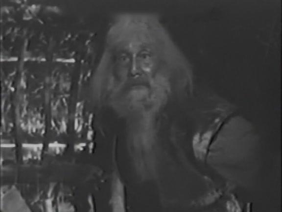 El anciano líder de la tribu