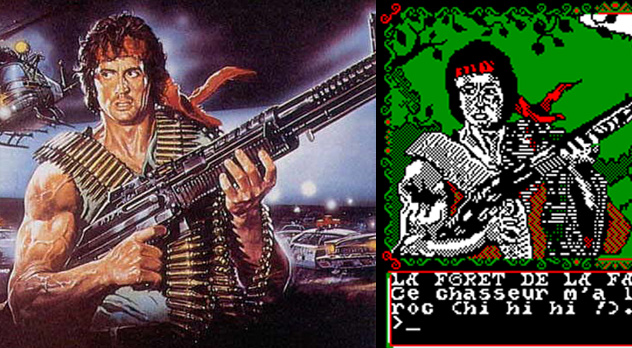 Rambo en La Chose de Grotemburg