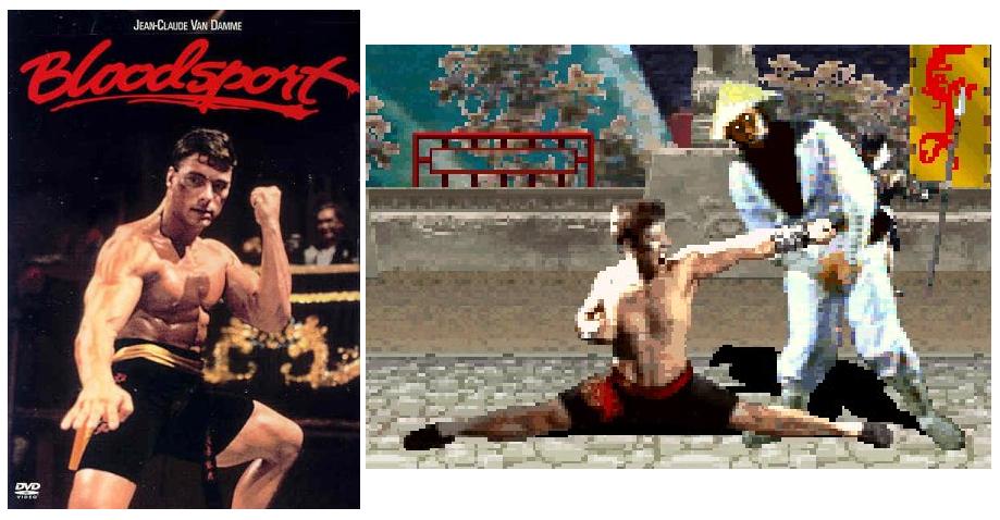 """Johnny Cage """"hermano"""" de Van Damme en Mortal Kombat"""