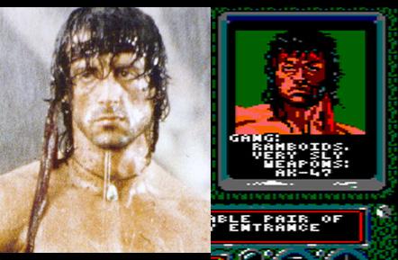 Rambo en New York Warriors