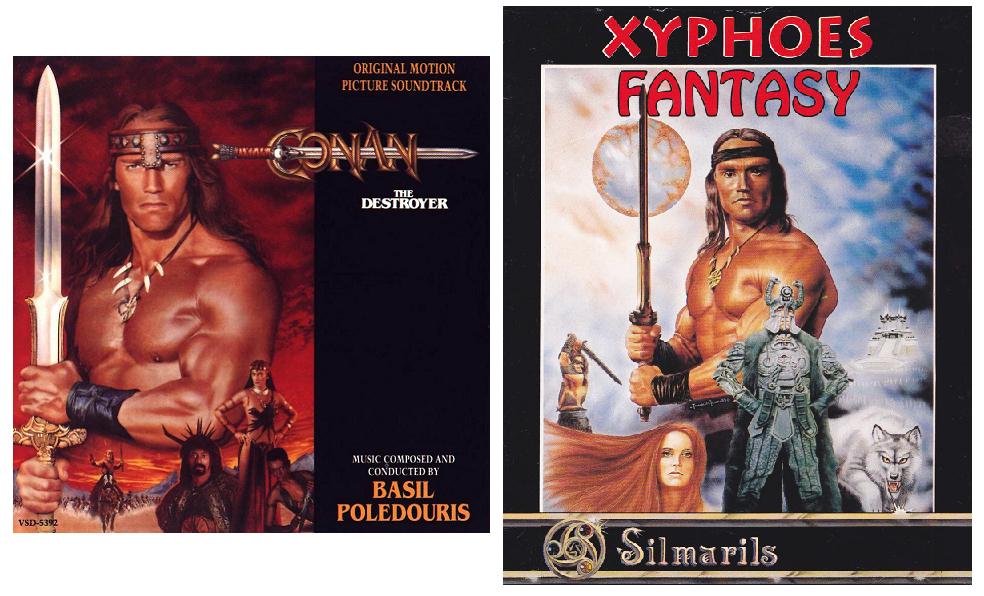 Conan, clara inspiración para Xyphoes Fantasy