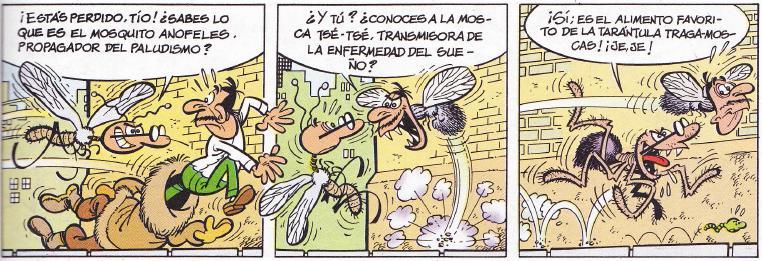 En El disfraz, cosa falaz, el famoso personaje de Ibáñez se enfrentará contra la horma de su zapato. Es el inicio de una de las batallas más épicas de la serie.
