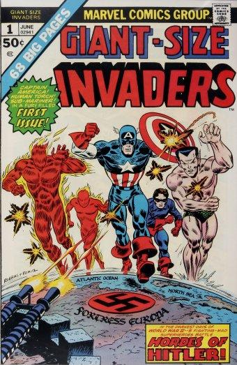 Los Invaders, listos para enfrentarse a los nazis