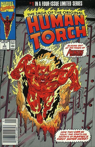 Segunda colección propia de Human Torch