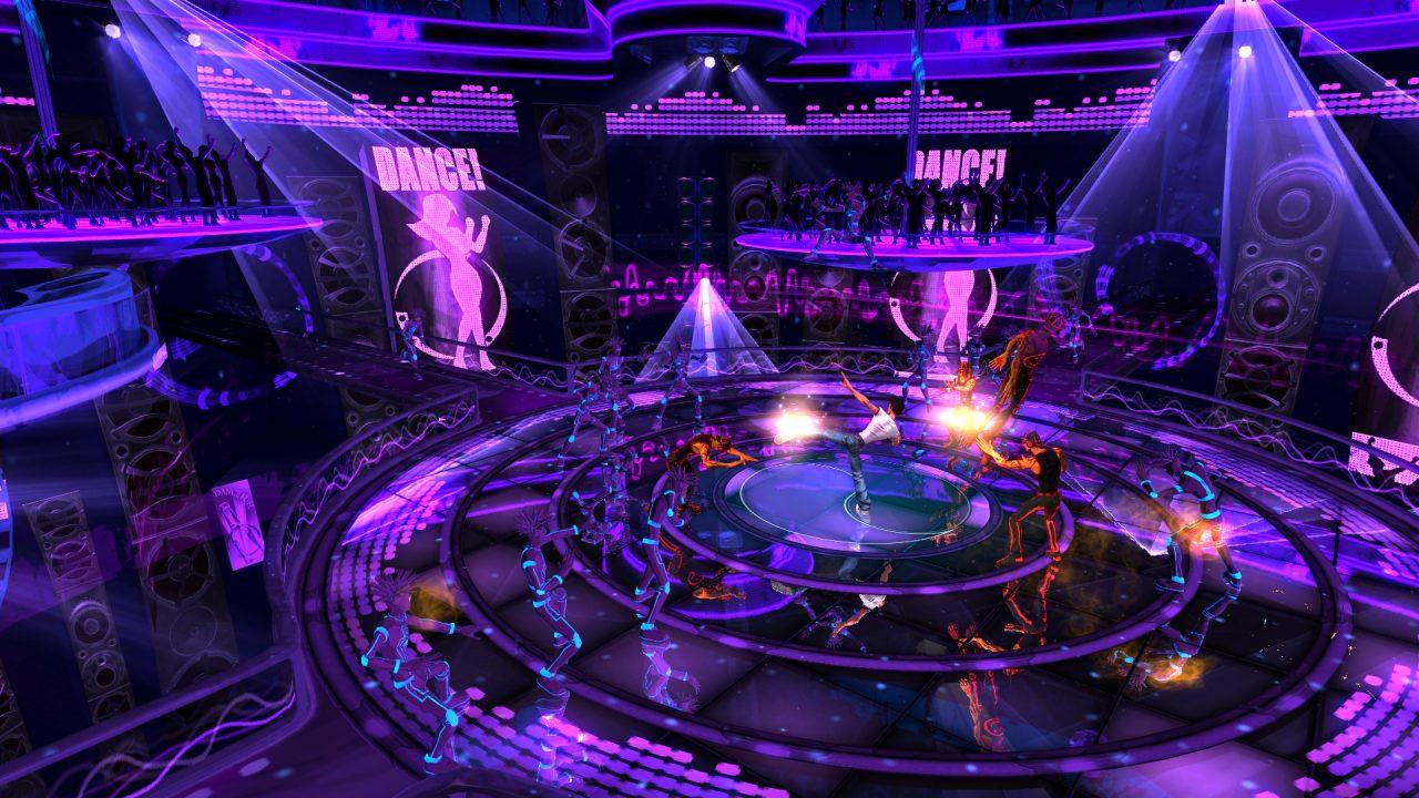 Los escenarios en el juego son coloridos y muy llamativos