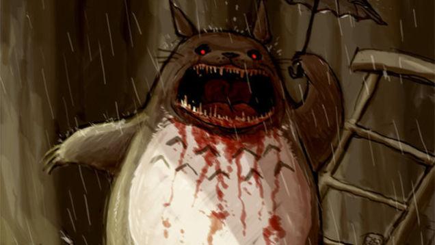 Mi vecino Totoro Creepypasta