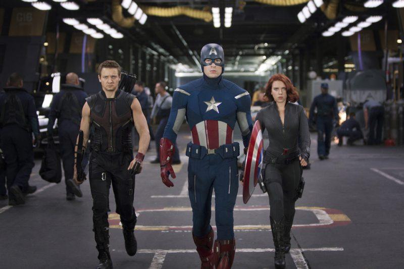 Ojo de Halcón, Capitán América