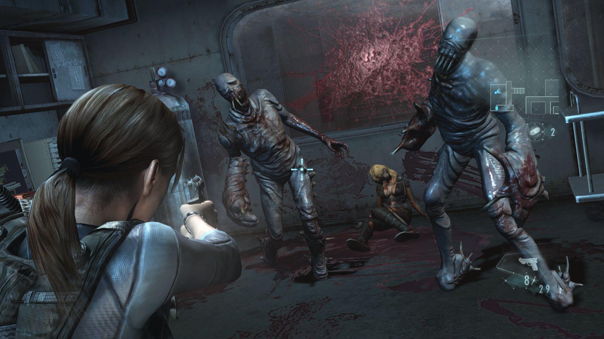 Resident Evil Revelations prometía un regreso a los orígenes de la saga y por ahora es el que más cerca ha estado...