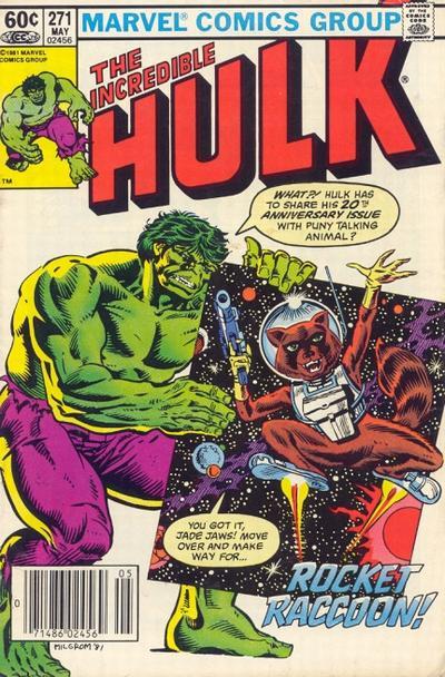 Raccoon regresa en las páginas de Hulk