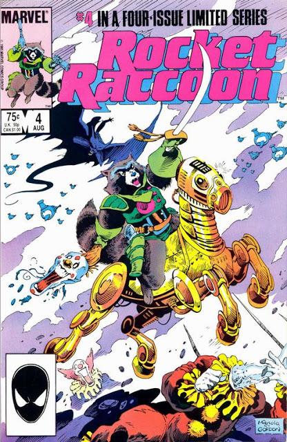 Serie limitada de Rocket Raccoon de 1985