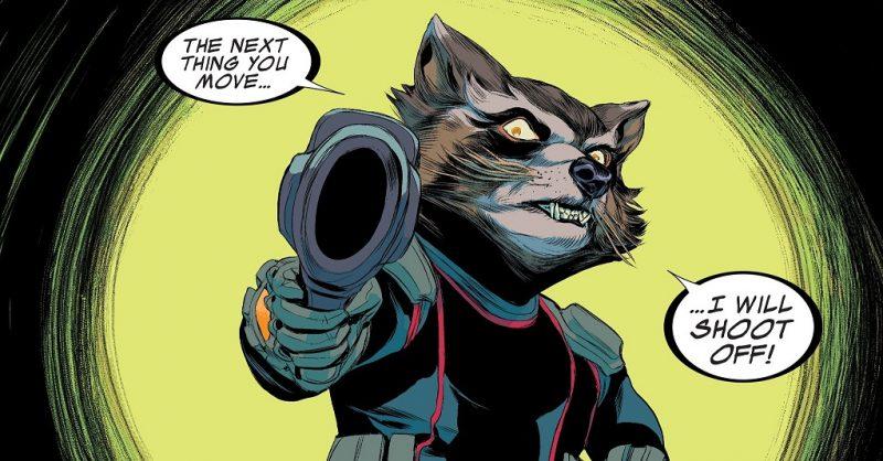 Rocket Raccoon en la actualidad