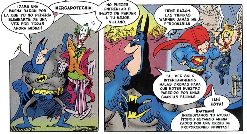 Batman contra el Joker al estilo Sergio Aragonés