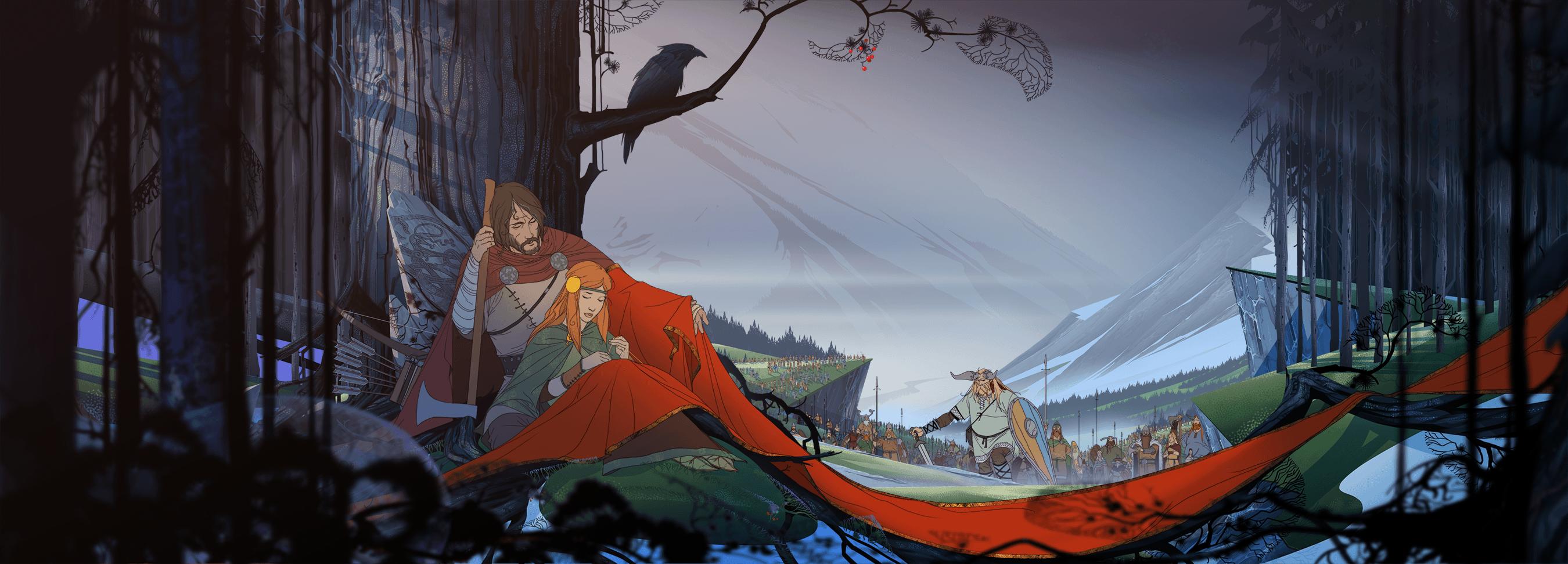 The Banner Saga es obra del estudio Stoic, formado por tres trabajadores de Bioware