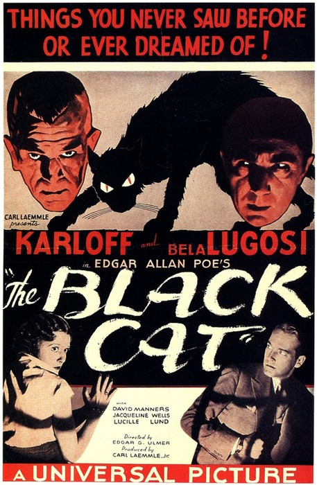 Black Cat Lugosi Karloff