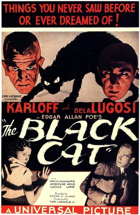 Black Cat Lugosi Karloff