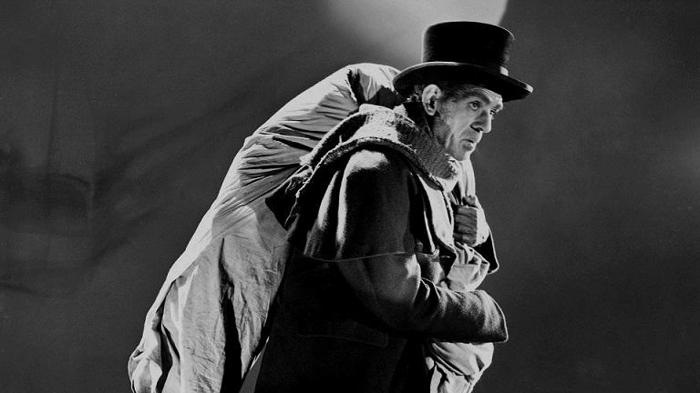 Karloff robando cadáveres