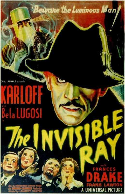 Invisible Ray Lugosi Karloff