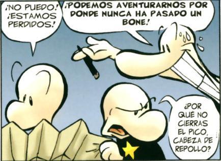 Los primos Bone, un trío cómico y heroico al mismo tiempo.