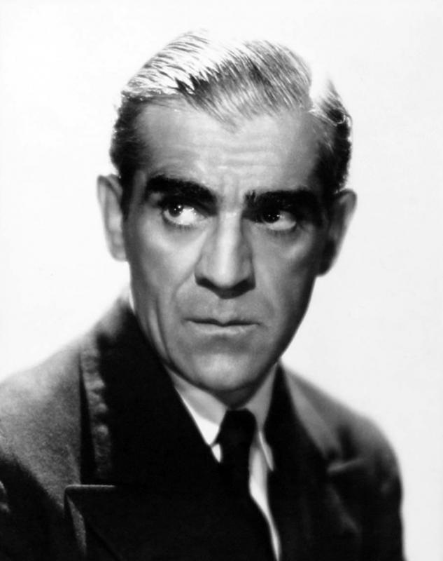 Lugosi Karloff Boris