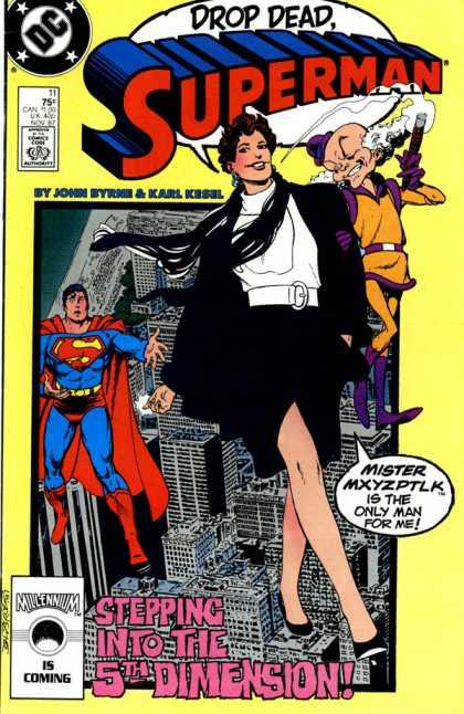 Robándole la novia a Superman
