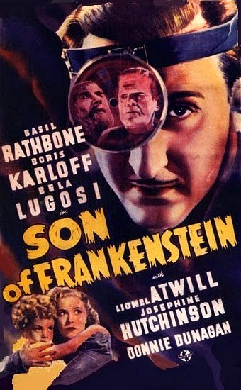 Son of Frankenstein Lugosi Karloff