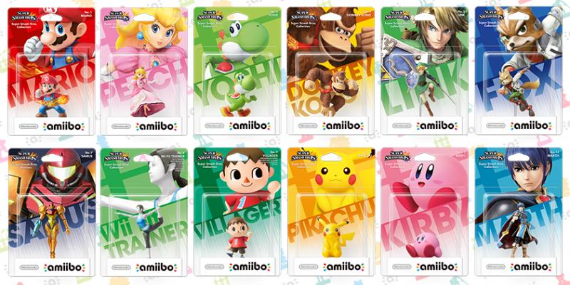 Super Smash Bros. for Wii U, Amiibo