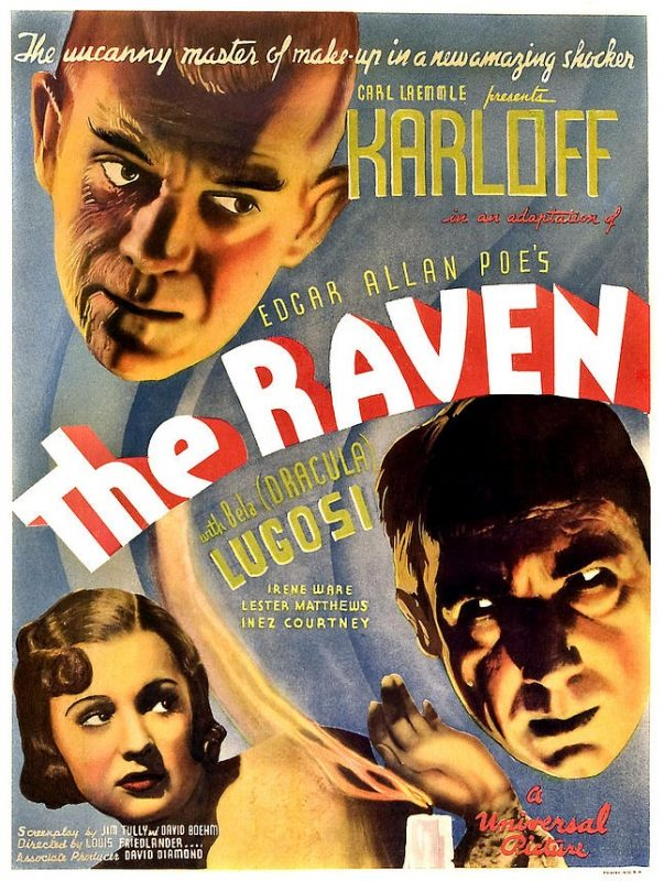 The Raven Lugosi Karloff