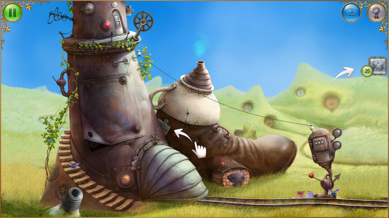 Todos los escenarios del juego tienen un estilo muy imaginativo y sereno