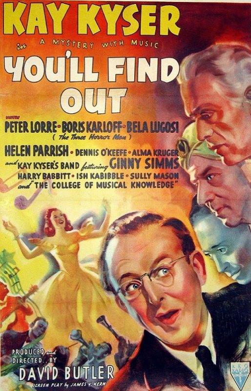 Youll Find Out Lugosi Karloff