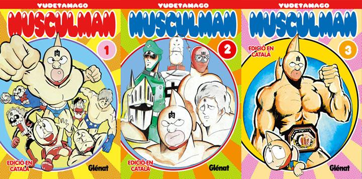 En España se publicaron los mangas en catalán.