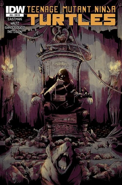 Rat King en los cómics de IDW