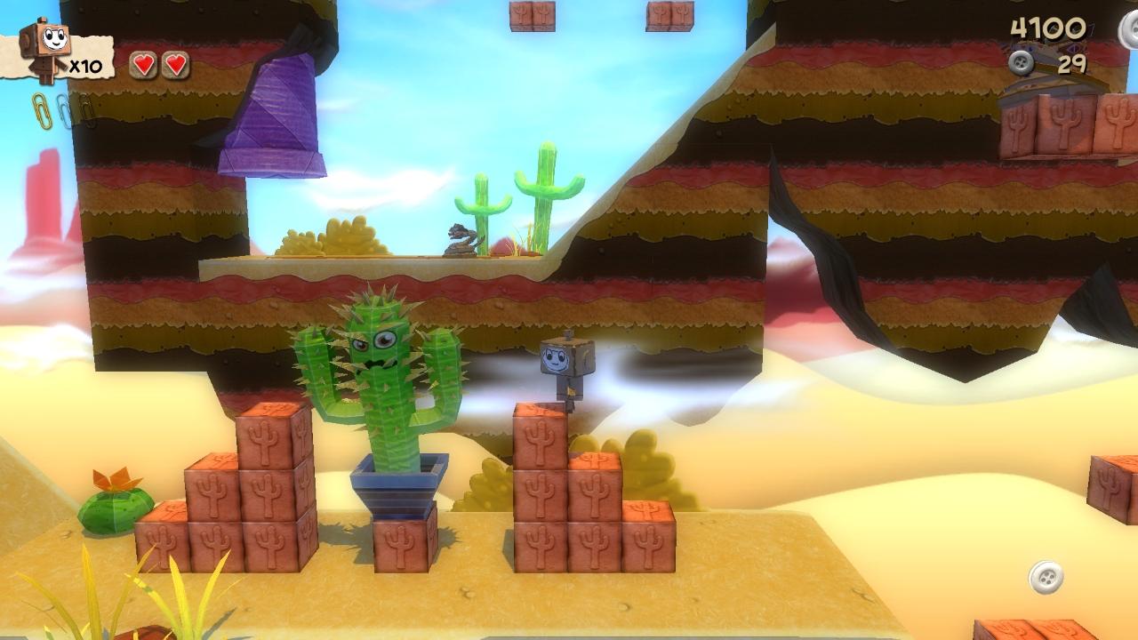 Los escenarios en el desierto tienen estilo western