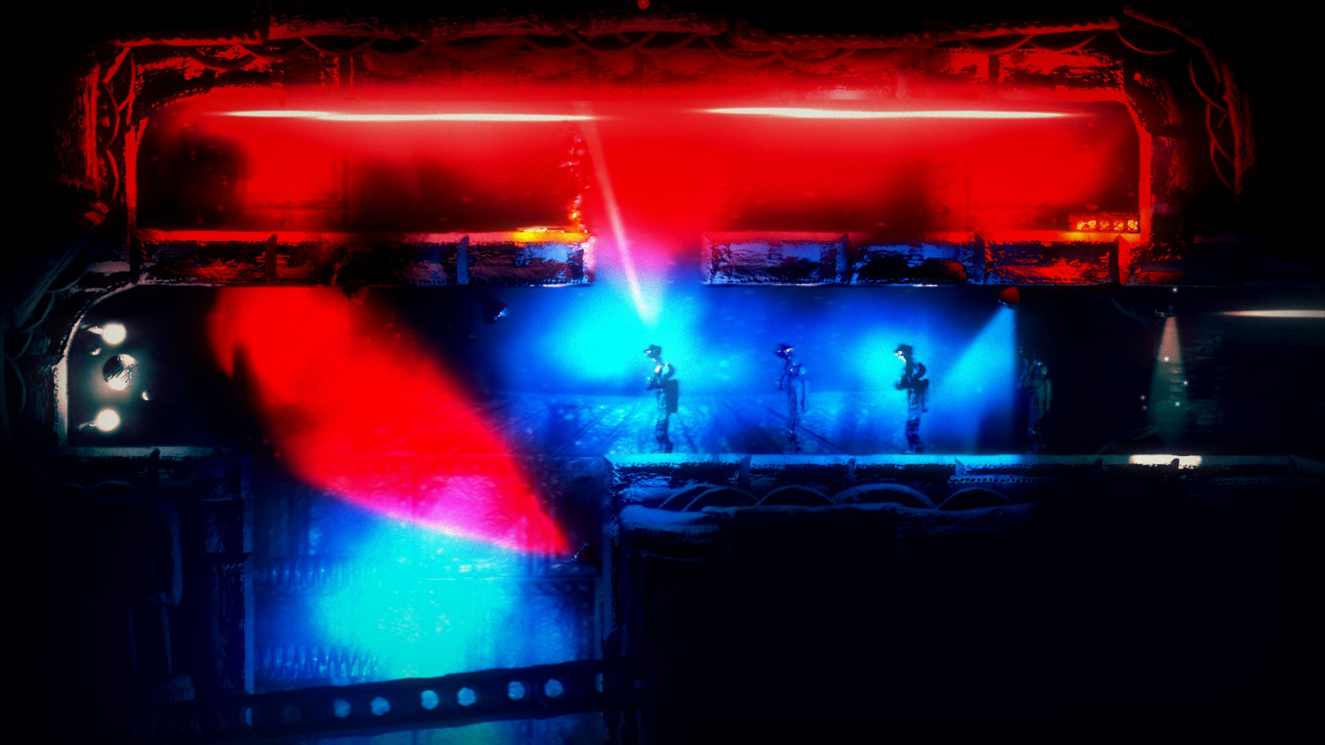 Las luces rojas, azules y púrpuras nos complicarán mucho el avance