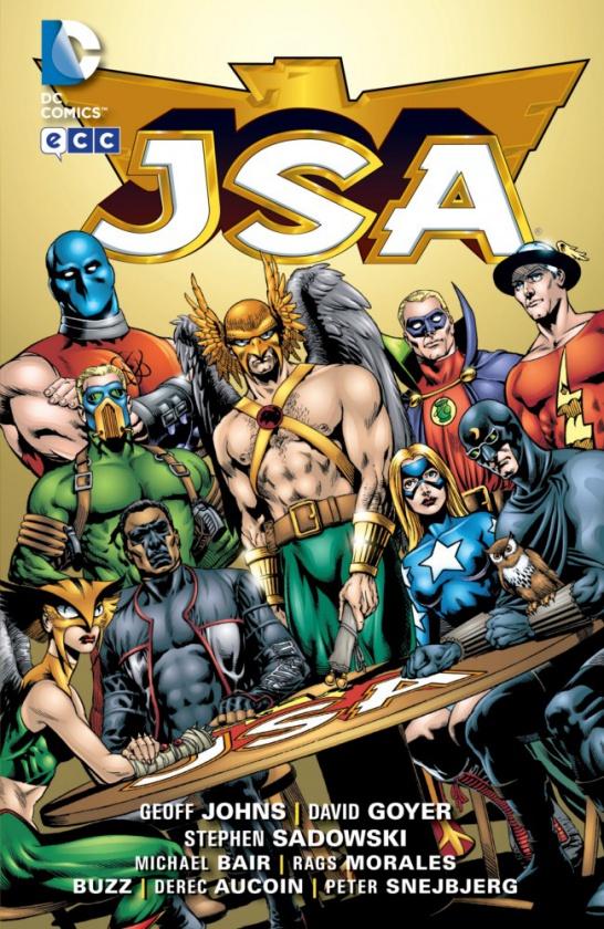 Flash en la Justice Society